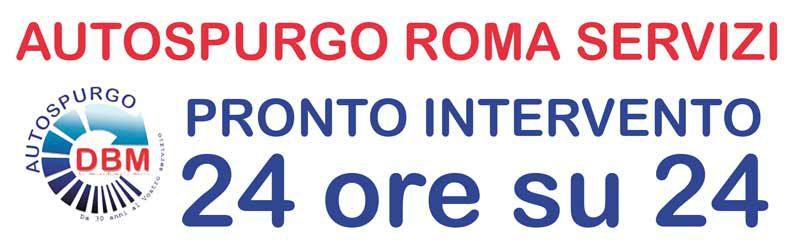 Autospurgo Roma servizio 24 ore su 24