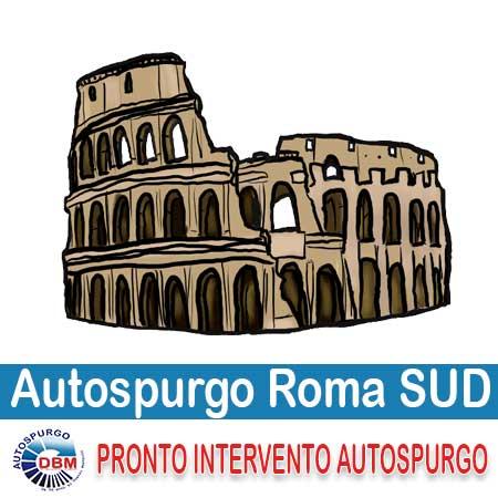 Autospurgo Roma Sud | La zona a sud del raccordo anulare e della capitale è servita con puntualità dalla nostra ditta. Essendo di base nell'area che ricopre Roma Sud