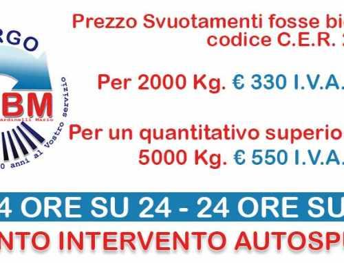 Autospurgo prezzi spurgo fognature Roma