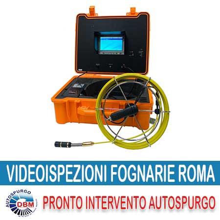 Videoispezioni fognarie Roma | Videoispezioni Roma