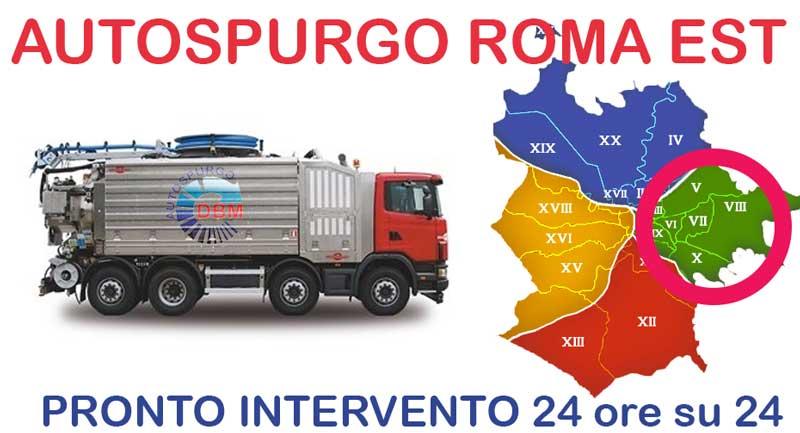 Autospurgo Roma Est Spurgo scatola sifonata Spurgo scatola sifonata Autospurgo Roma Est
